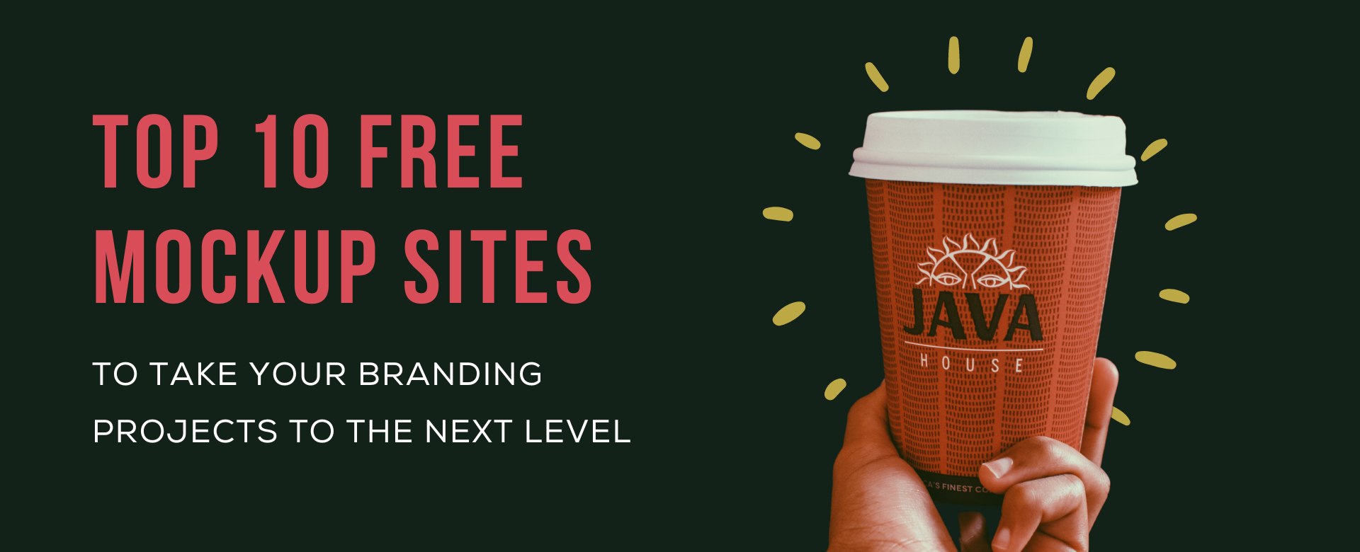 Top 10 free mockup sites to take your branding projects